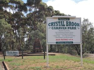 Caravan Park Signage