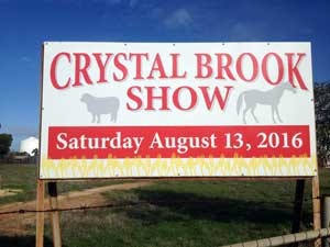 Crystal Brook Show