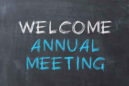 Welcome Annual Meeting